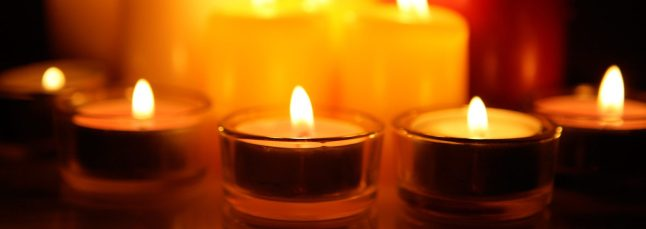 candles fb banner